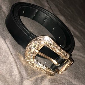 Black & Gold Belt